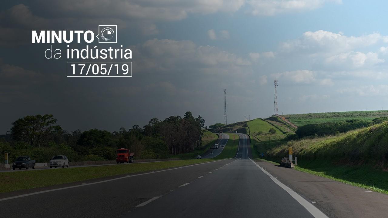 Vídeo: Minuto da Indústria mostra estudo sobre a infraestrutura das rodovias brasileiras