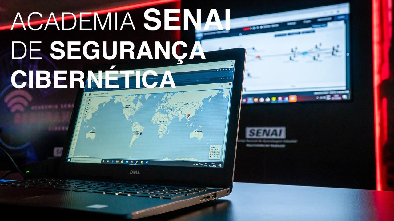 SENAI lança academias e cursos para formar profissionais de cibersegurança