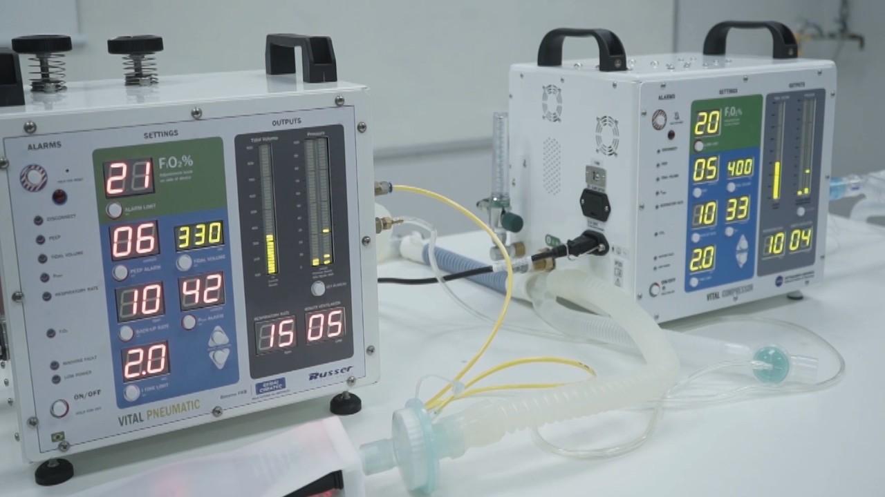VÍDEO: Respirador da NASA será produzido no Brasil