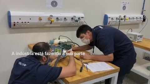 VÍDEO: A indústria contra o coronavírus - case conserto de ventiladores pulmonares