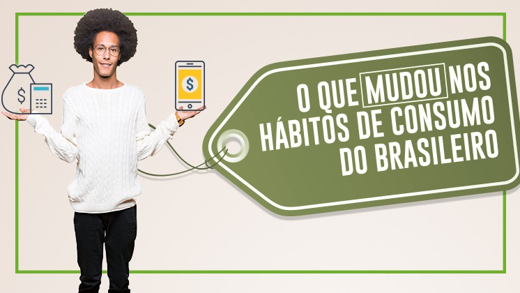 INFOGRÁFICO: O que mudou nos hábitos de consumo do brasileiro