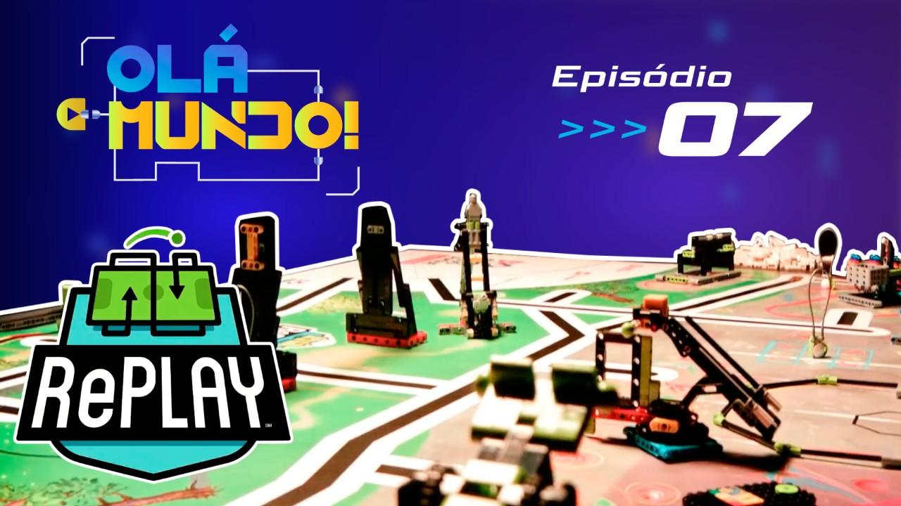 Novo episódio do Olá, Mundo! fala sobre Desafio Covid-19 de Robótica e o enigma do tapete