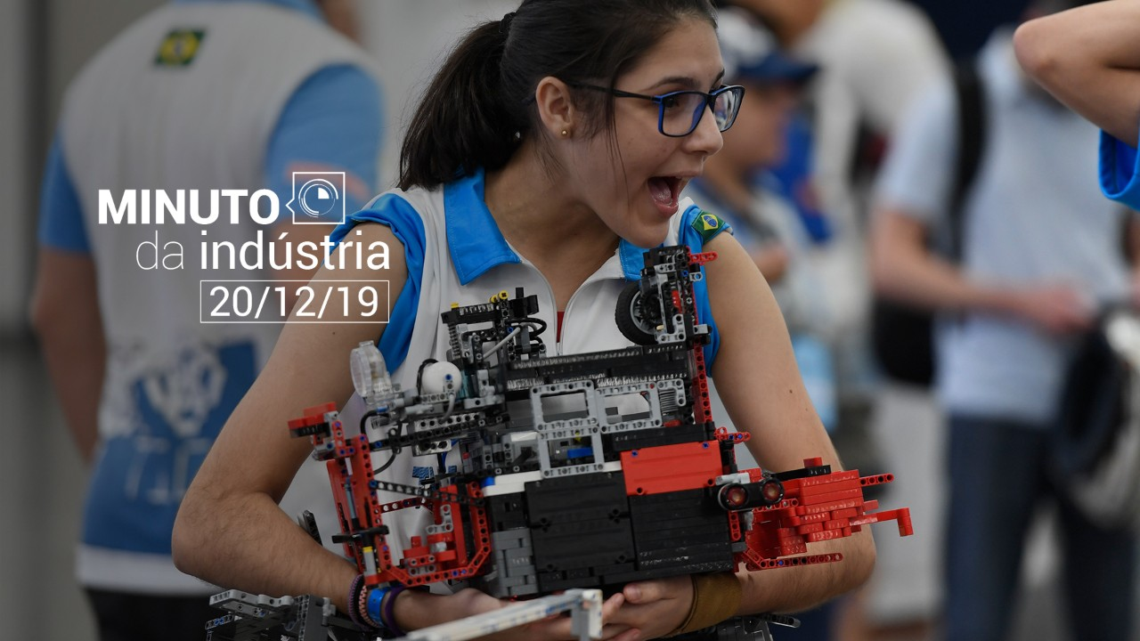 VÍDEO: Minuto da Indústria mostra que aumentou o interesse das meninas pela Robótica