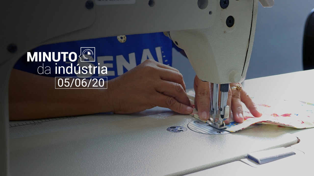 VÍDEO: SENAI terá consultoria gratuita para 250 empresas na produção de EPIs