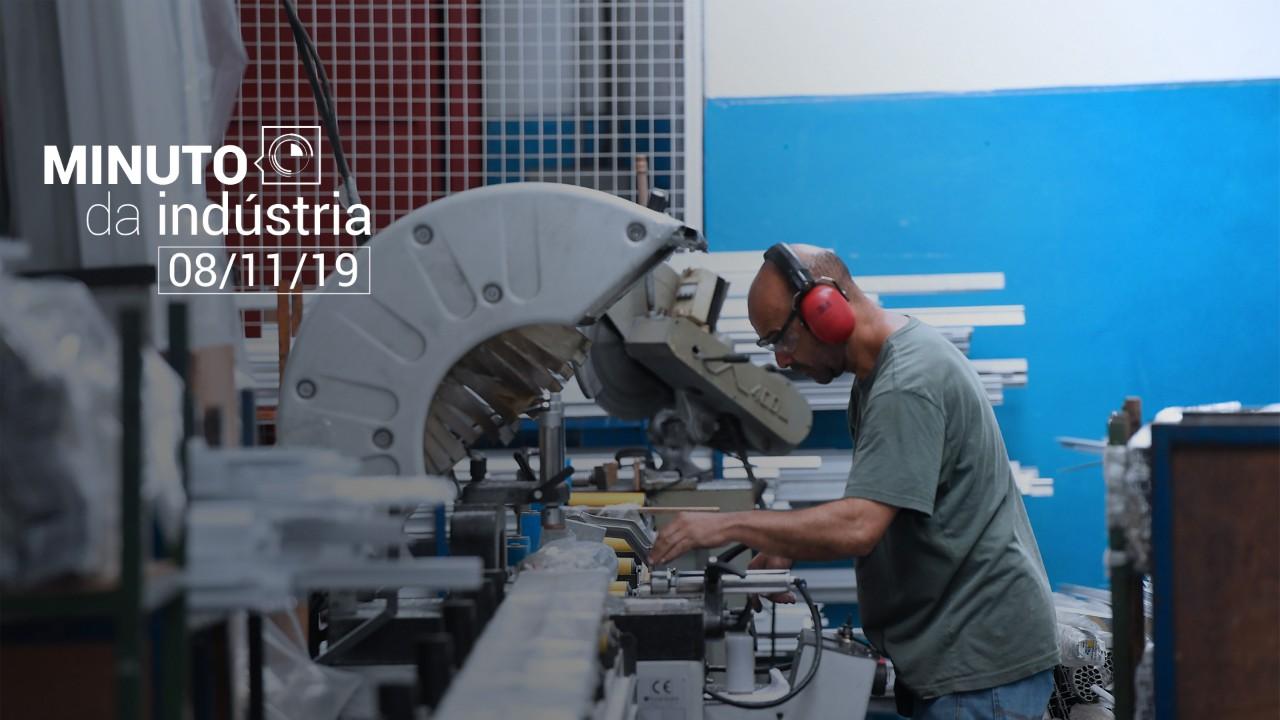 VÍDEO: Indústria recupera o fôlego, mostra Minuto da Indústria