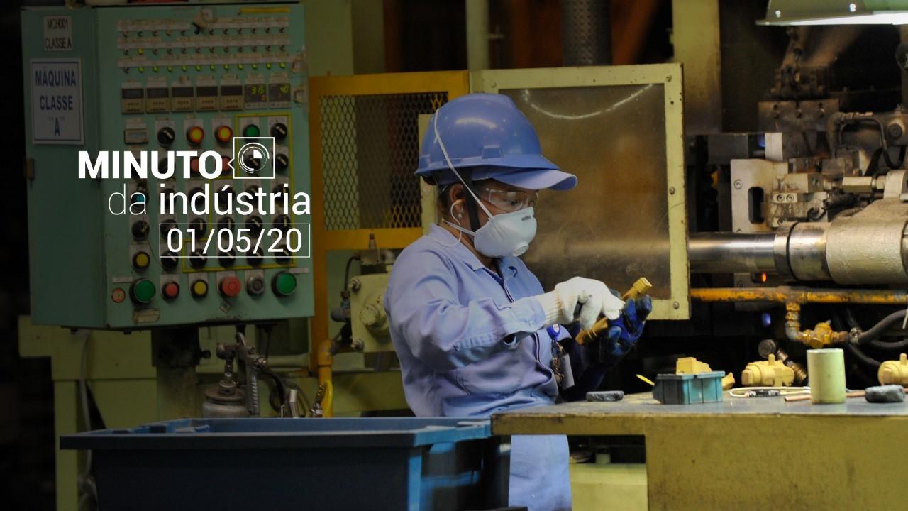 VÍDEO: Minuto da Indústria - Os impactos da pandemia na indústria