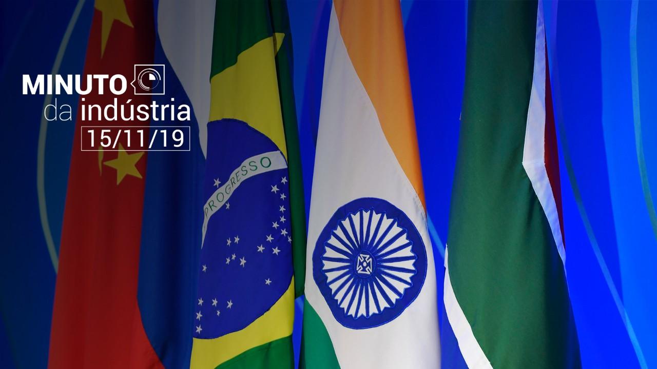 VÍDEO: Minuto da Indústria destaca o Fórum Empresarial do BRICS