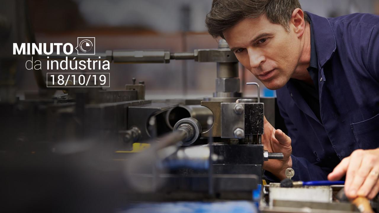 VÍDEO: Minuto da Indústria mostra que o custo do trabalho caiu em 2018