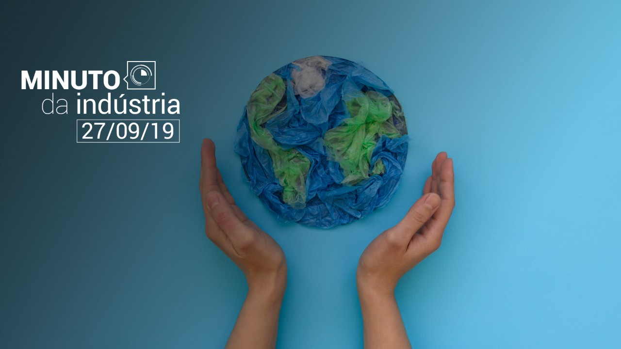 VÍDEO: Minuto da Indústria mostra pesquisa sobre economia circular