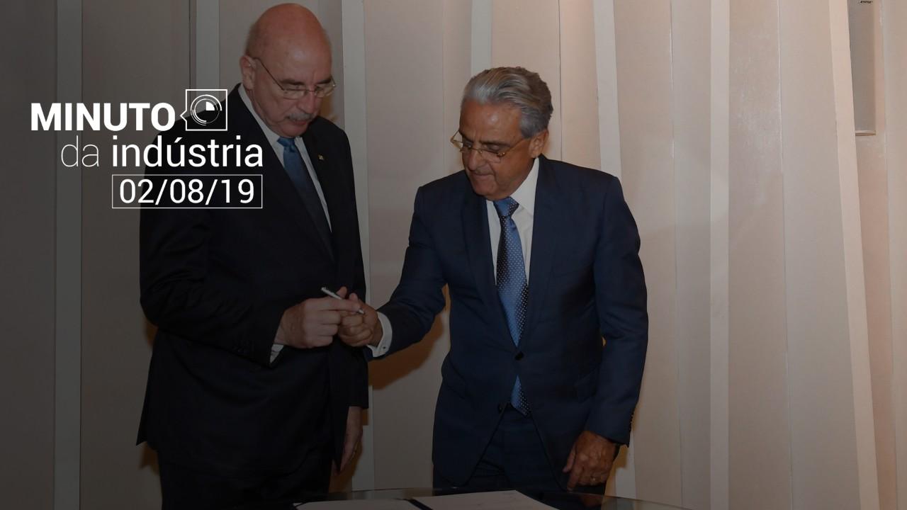 VÍDEO: Minuto da Indústria destaca o acordo do governo federal com o SESI para capacitar jovens até 2022