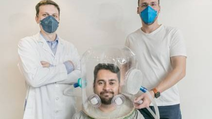 Capacetes de ventilação começam a ser testados no Hospital das Clínicas de São Paulo