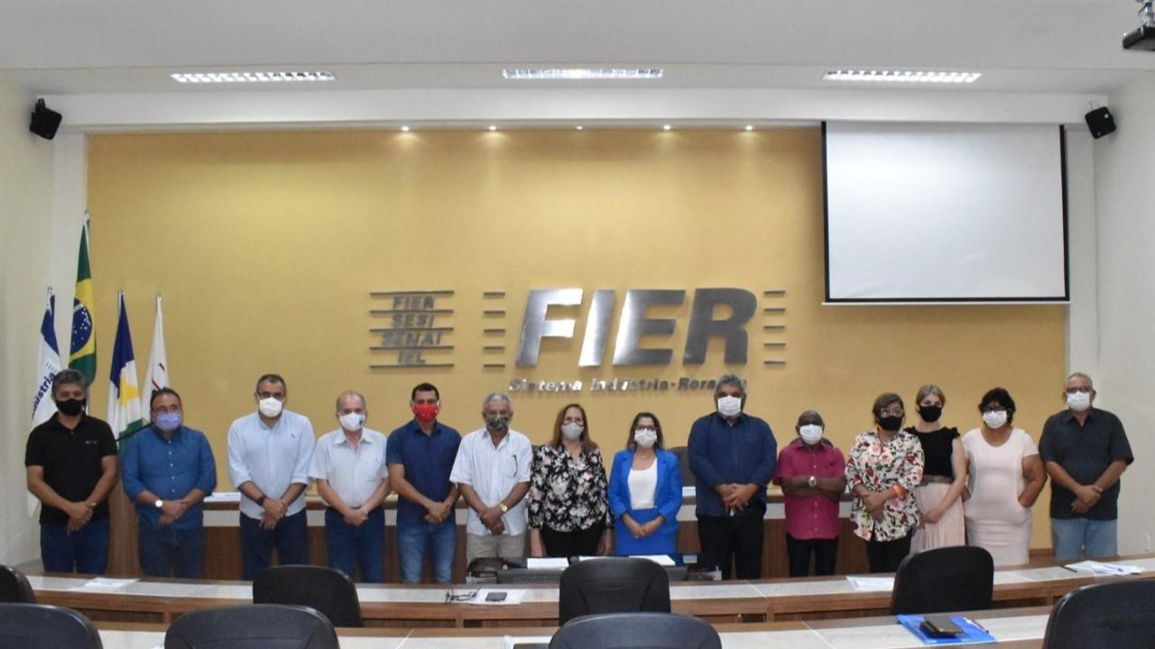 Diretoria da FIER toma posse em nova composição