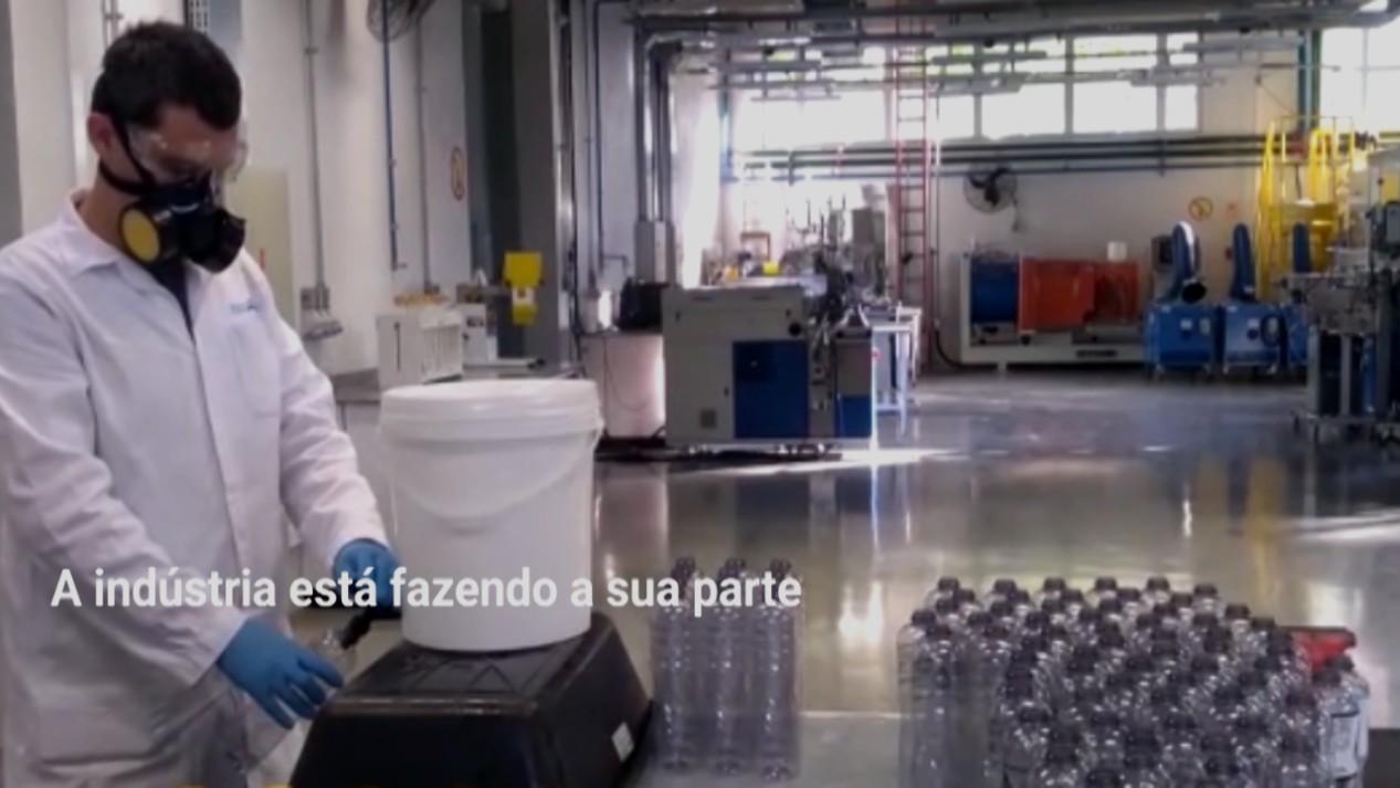 VÍDEO: A indústria contra o coronavírus - case SENAI Rio Grande do Sul