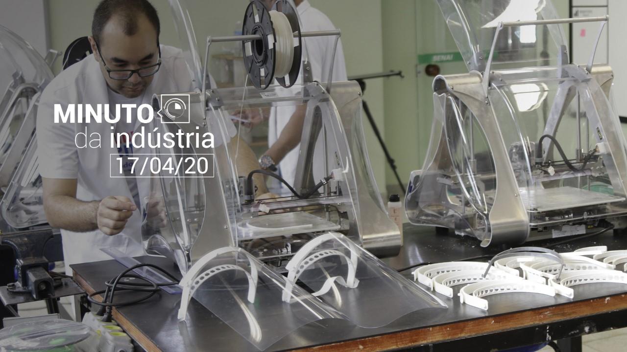 VÍDEO: Minuto da Indústria - As ações do Sistema Indústria no combate ao coronavírus