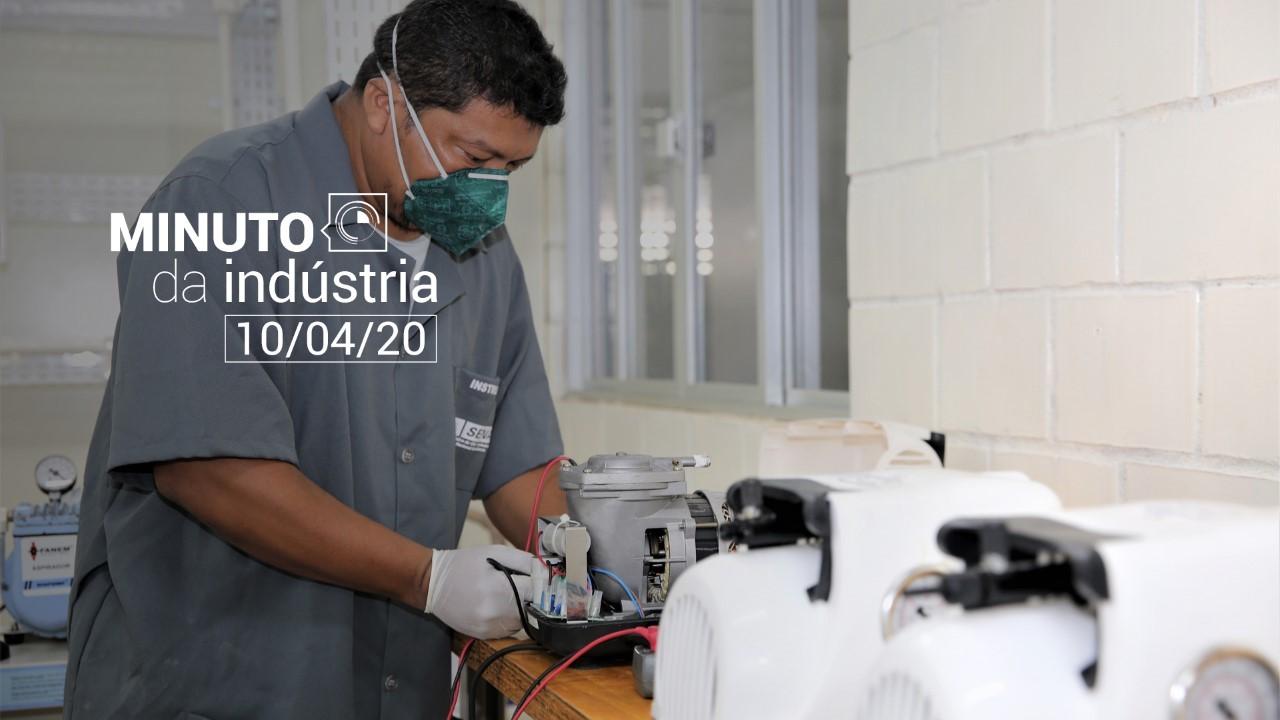 VÍDEO: Minuto da Indústria - SENAI e Forças Armadas juntos no combate ao coronavírus
