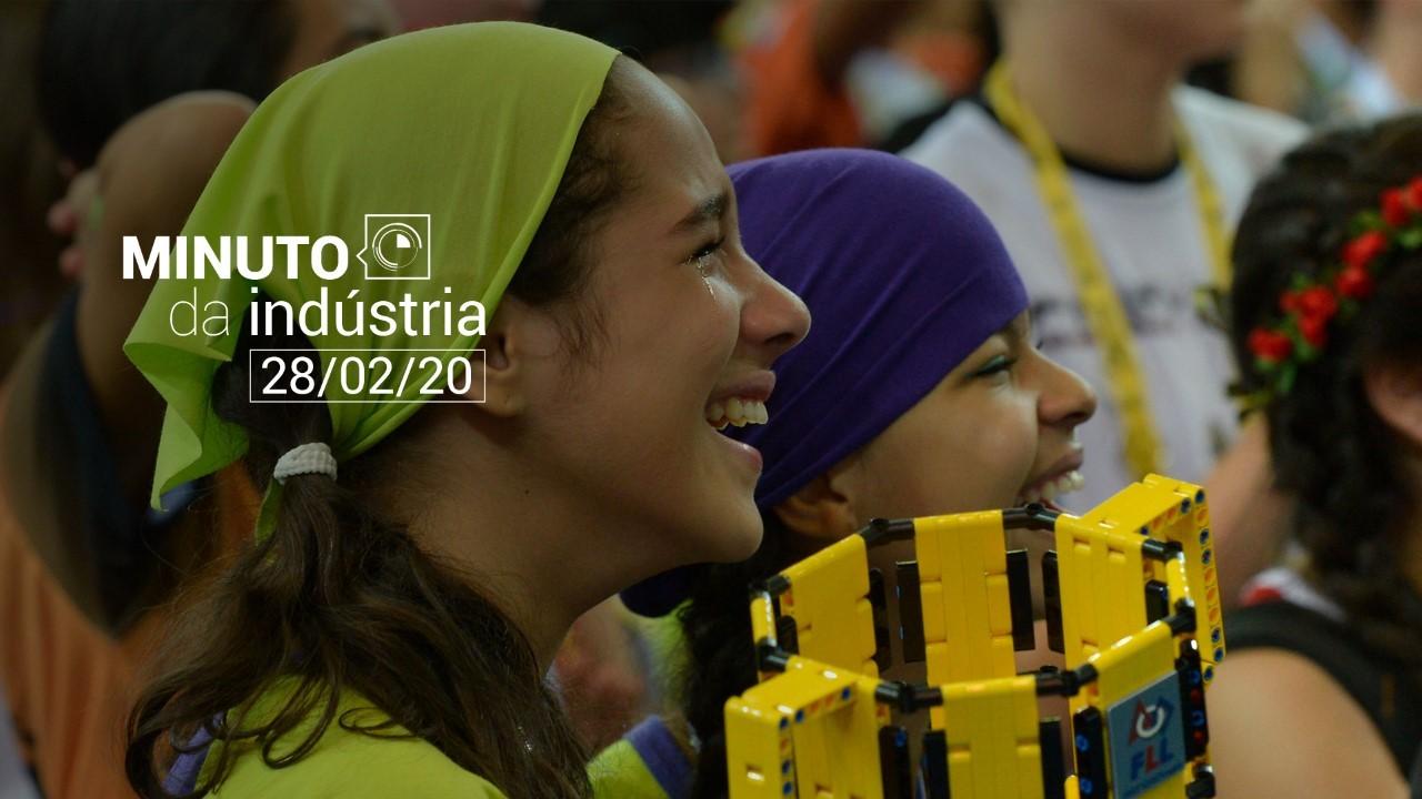 VÍDEO: Minuto da Indústria - Tá chegando o Festival SESI de Robótica