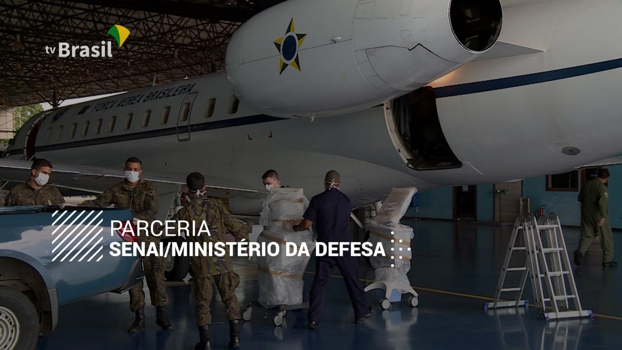 VÍDEO: A indústria contra o coronavírus - case SENAI e Ministério da Defesa