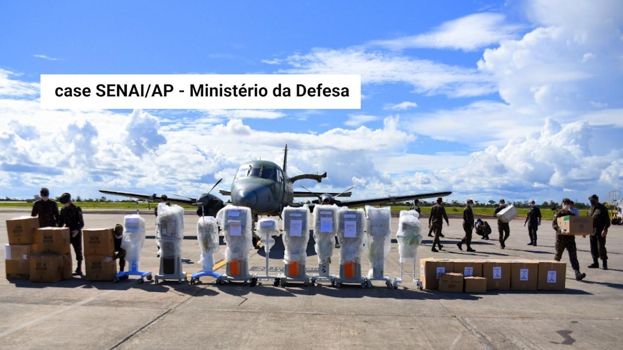 VÍDEO: A indústria contra o coronavírus - case SENAI Amapá e Ministério da Defesa