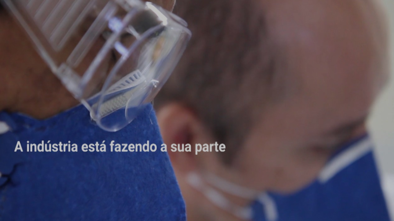 VÍDEO: A indústria contra o coronavírus - case SENAI Pernambuco