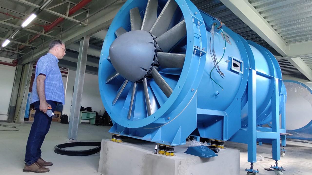 Instituto SENAI de Inovação monta laboratório com túnel de vento