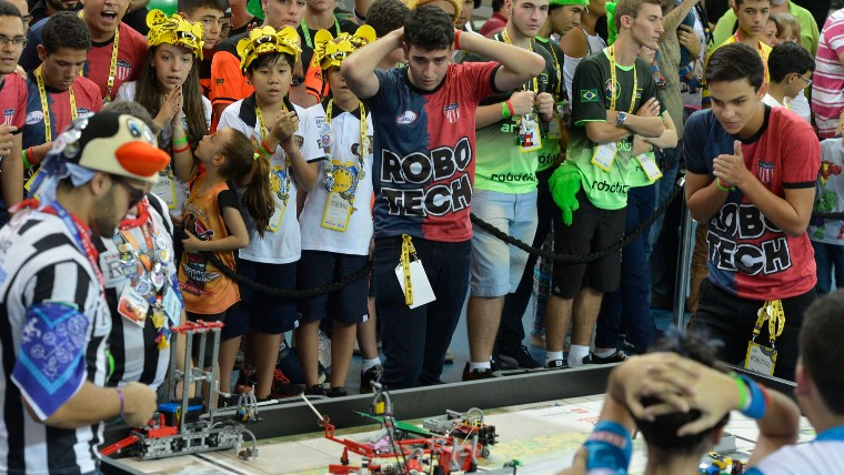 5 motivos pra você visitar o Torneio Nacional de Robótica