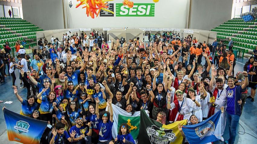 Brasília terá três equipes no Torneio SESI de Robótica de 2019
