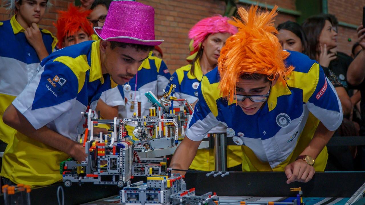 Entenda como funcionam as três competições do Festival SESI de Robótica