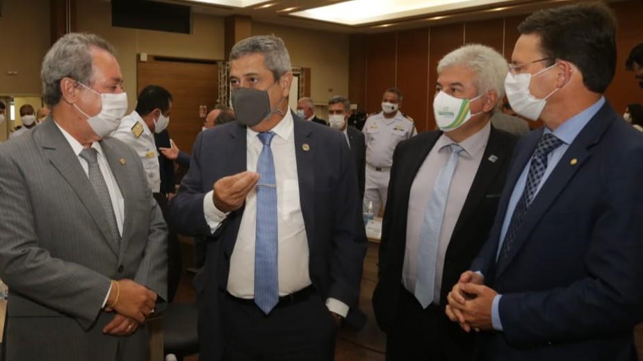 Ministros da Defesa, Ciência, Tecnologia e Inovação e da Cidadania visitam SENAI CIMATEC