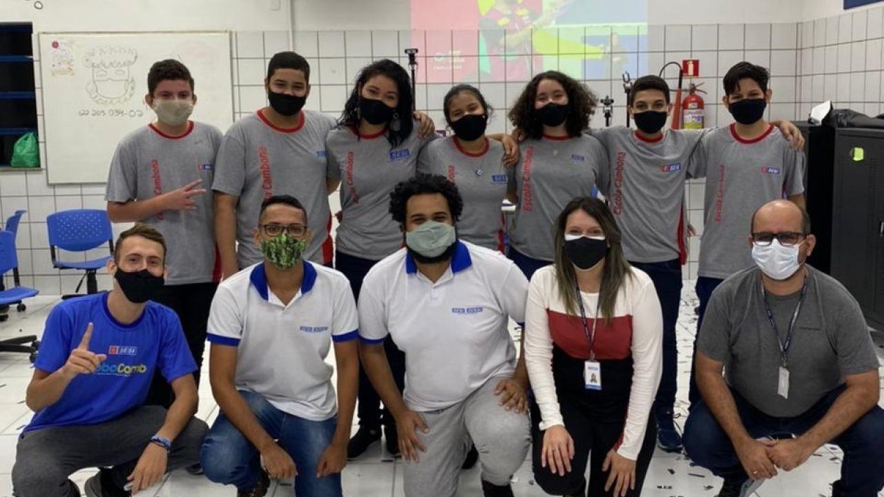 Rede SESI SENAI de Alagoas classifica três equipes para torneio nacional de robótica
