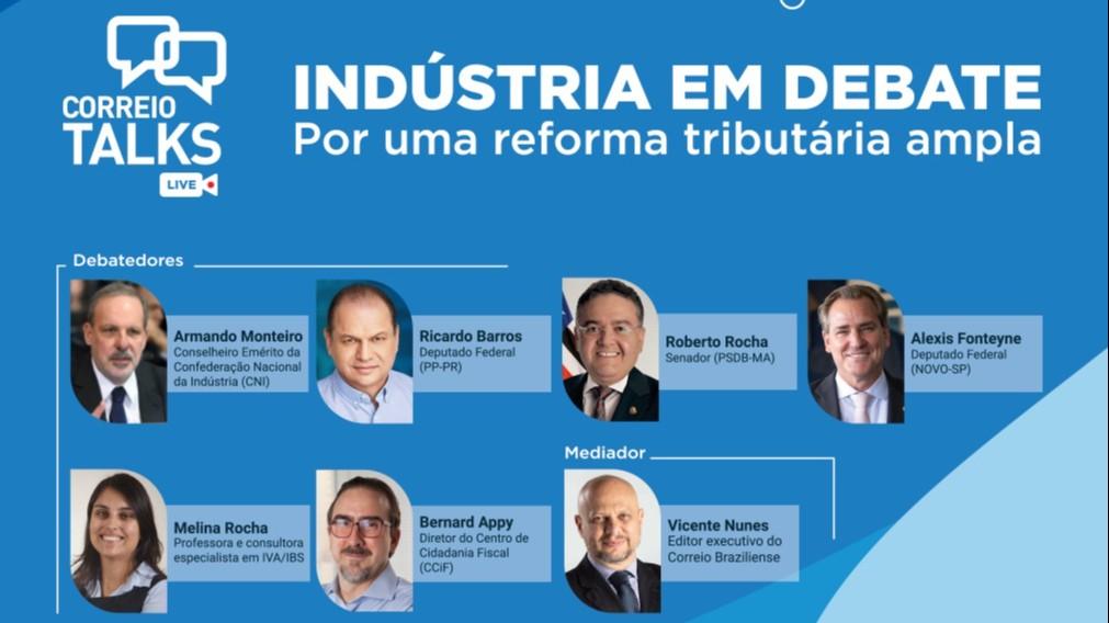 Indústria em Debate: veja como foi a live sobre a reforma tributária