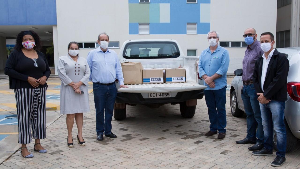 SENAI de Mato Grosso doa protetores faciais para hospitais do Estado