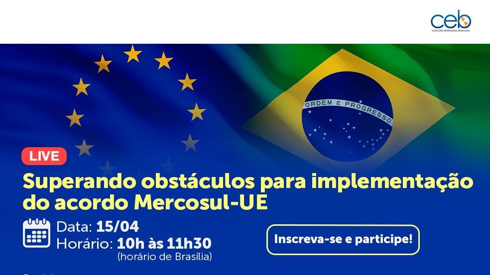 Mercosul-UE: CNI realiza live com representantes do Senado e do Executivo em defesa do acordo