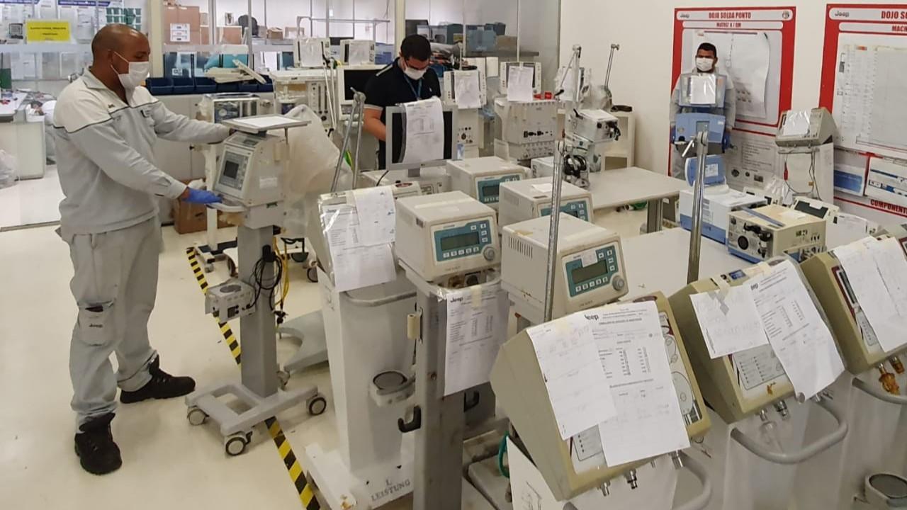 Manutenção de respiradores: SENAI e FCA reforçam parceria para acelerar entregas