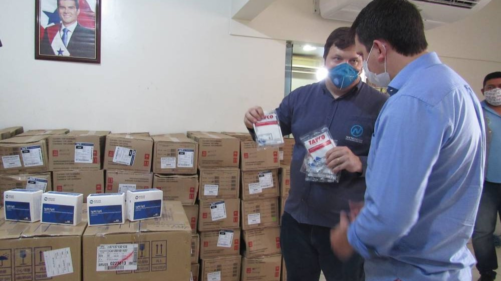 Indústria de energia entrega bombas e monitores para hospital do Pará
