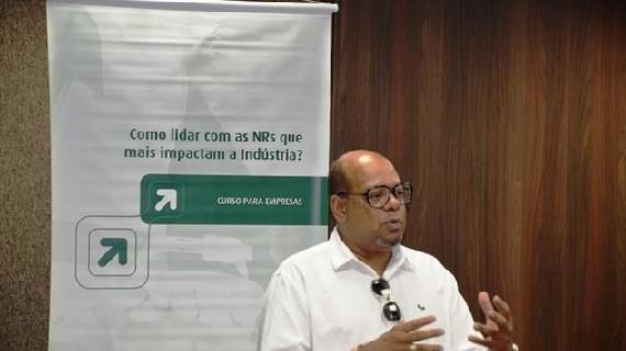 """PDA realizou na Casa da Indústria o curso """"Como Lidar com as NRs que Mais Impactam a Indústria?"""""""