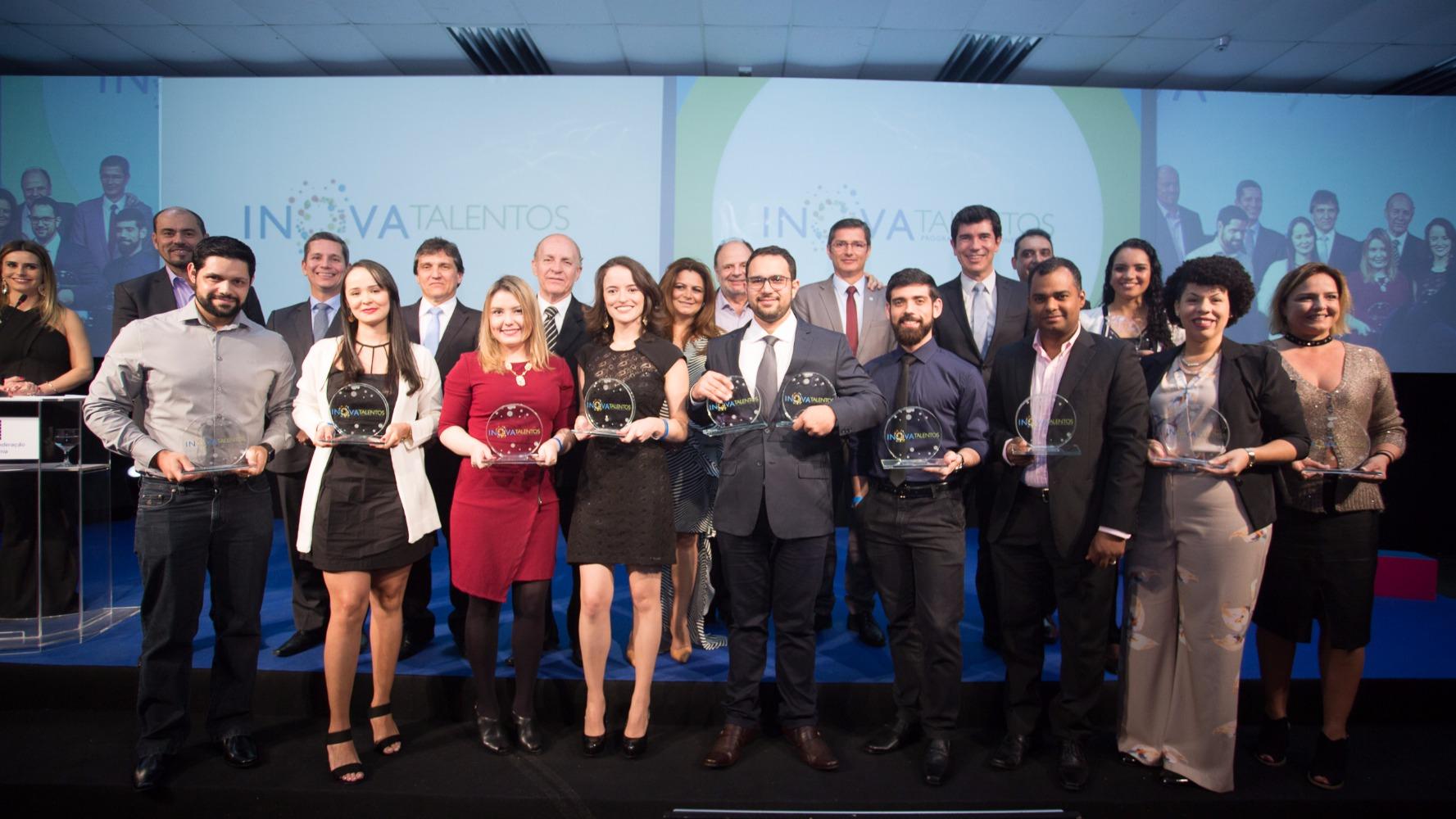 Vencedores do Prêmio Inova Talentos 2017 são anunciados em solenidade do IEL em Curitiba