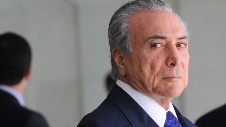 CNI entrega a vice-presidente Michel Temer proposta com 36 medidas indispensáveis para tirar país da crise