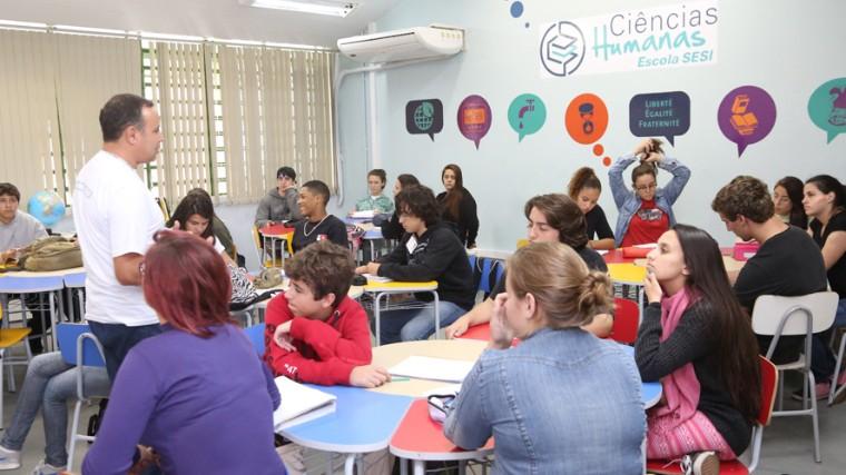 MEC destaca escola do SESI de Pelotas (RS) como exemplo de inovação e criatividade na educação básica