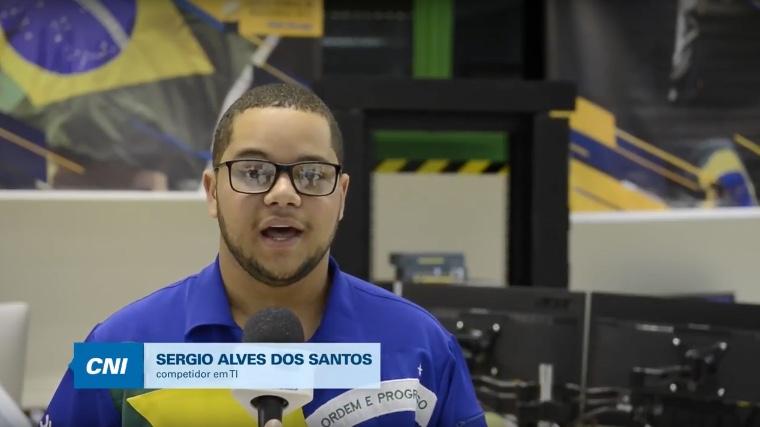 VÍDEO: SENAI no peito e Brasil no coração, diz competidor sobre o mundial de profissões técnica