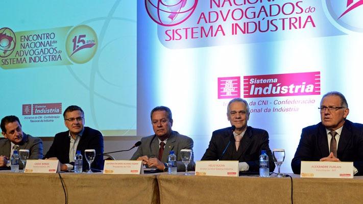 Encontro Nacional dos Advogados do Sistema Indústria debate a nova lei trabalhista