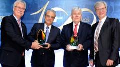 Robson Braga de Andrade é eleito Personalidade Brasil-Alemanha 2016