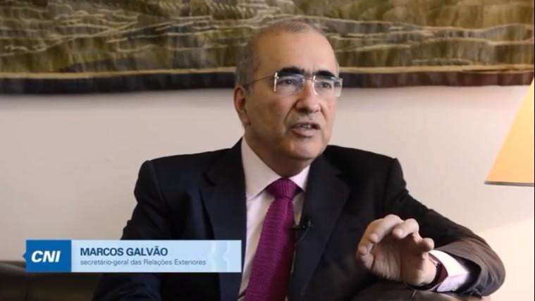 Brasil deve ampliar sua rede de acordos comerciais, diz Marcos Galvão