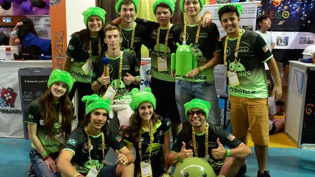Alunos do Brasil conquistam primeiro lugar em torneio de robótica na Austrália