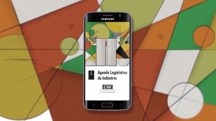 CNI lança aplicativo da Agenda Legislativa da Indústria para iOS e Android