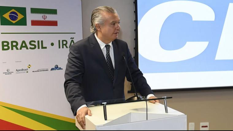 Brasil e Irã negociam acordos para atingir meta de US$ 5 bilhões no comércio bilateral
