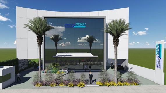 Instituto SENAI de Tecnologia começa a ser construído em Cuiabá