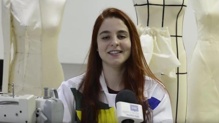 VÍDEO: Mesmo com o pé quebrado, estudante manteve o treinamento para o mundial de profissões técnicas