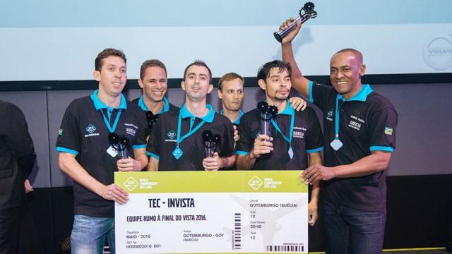 Ex-alunos do SENAI se classificam para competição mundial da Volvo