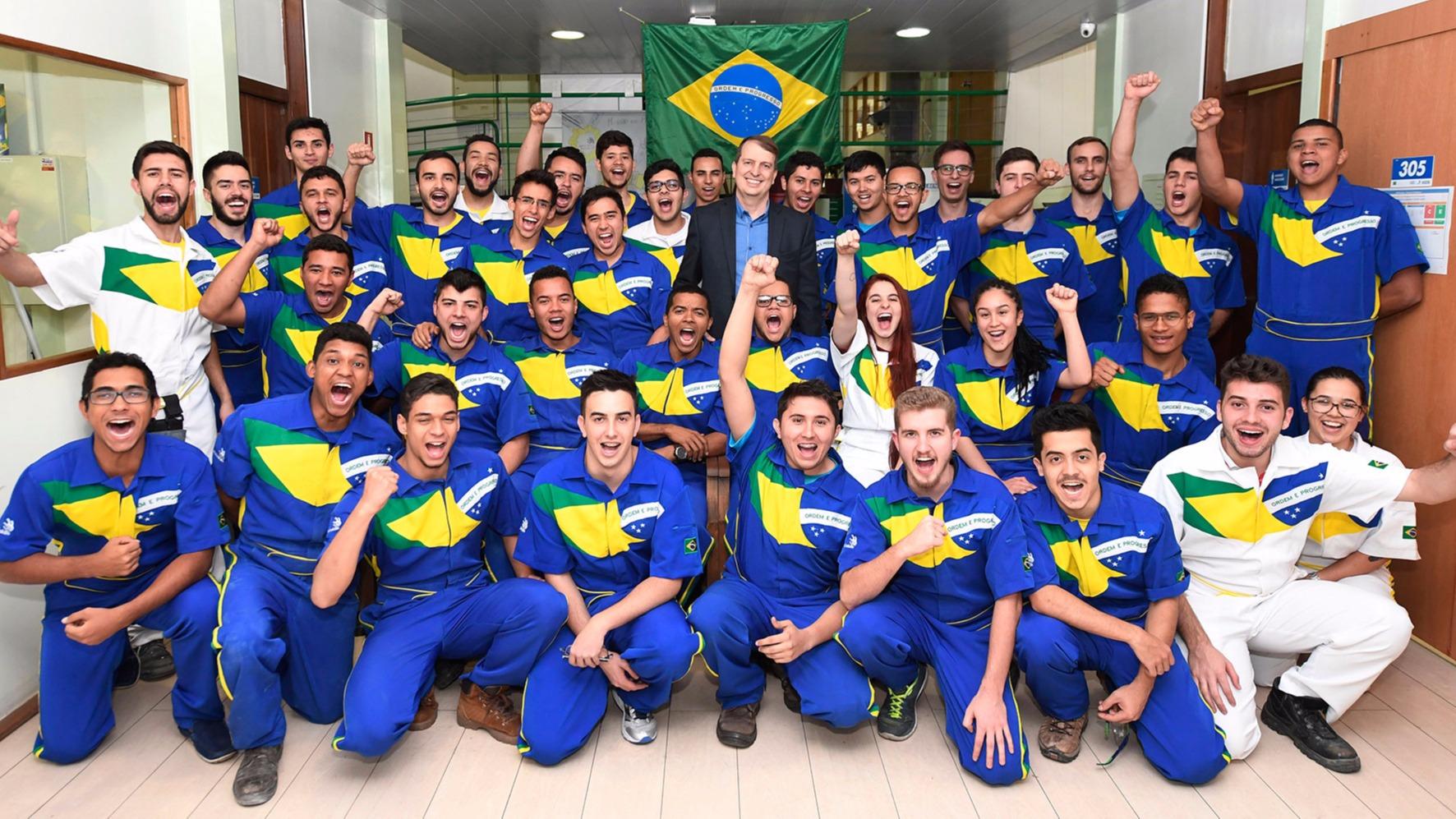 Acompanhe o desempenho da delegação brasileira na WorldSkills 2017 em novo site no Portal da Indústria