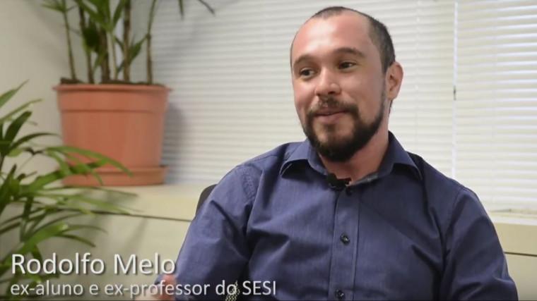 VÍDEO: Ex-aluno e ex-professor destaca a qualidade do ensino do SESI